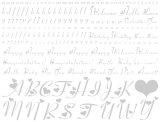 【ガラス用】ハートアルファベット小文字