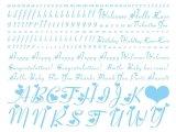 ハートアルファベット小文字