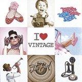 【ナプキン】 I Love Vintage