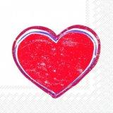 【ナプキン】 HEARTBEAT red