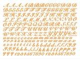 アルファベット-new【ガラス用】