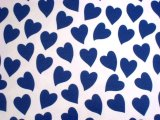 HEART BLUE  (A4)