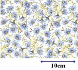 DAISY CHAIN BLUE  (A4)