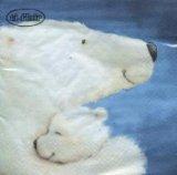 【ナプキン】 Polar Bear