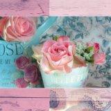 【ナプキン】 Belle Fleurs de Paris rose