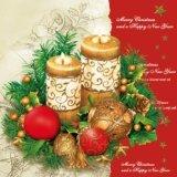 【ナプキン】 Christmas Candles