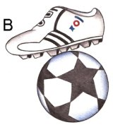 FOOTBALL BOOT & BALL