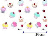 CUP CAKES CHINTZ  (A4)