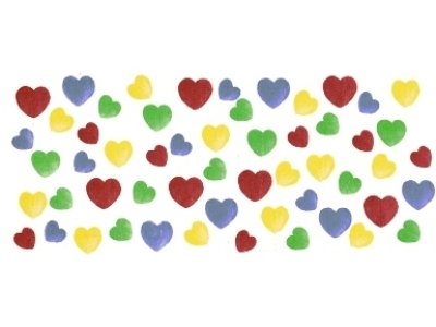 画像1: HAND PAINTED HEARTS