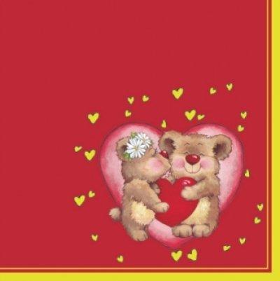 画像1: 【ナプキン】 Love Bears