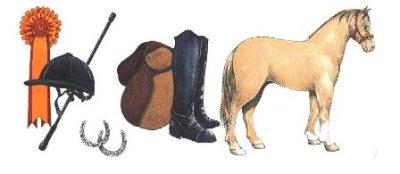 画像1: HORSE RIDING