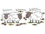 SHEEP 197x87mm