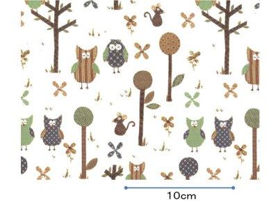 画像1: PATCHWORK OWLS  (A4)