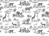 SAFARI TOILE BLACK (L)