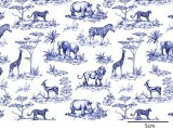 SAFARI TOILE BLUE(L)