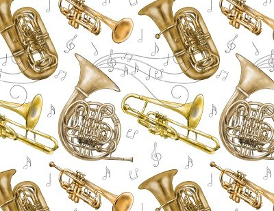画像1: BRASS INSTRUMENTS (A4)
