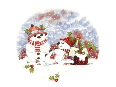 画像1: HAPPY SNOWMAN
