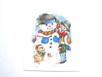 画像1: OUR SNOWMAN