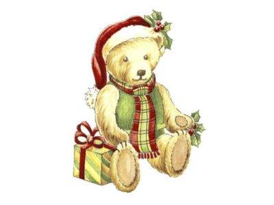 画像1: CHRISTMAS TEDDY