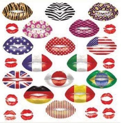 画像1: Print of Lips