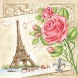 【ナプキン】 BONJOUR PARIS CREAM