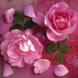 【ナプキン】 Hot Pink Roses