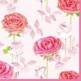 【ナプキン】 Roses pink