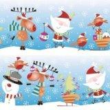 【ナプキン】 Santa Claus