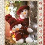 【ナプキン】 Snowman